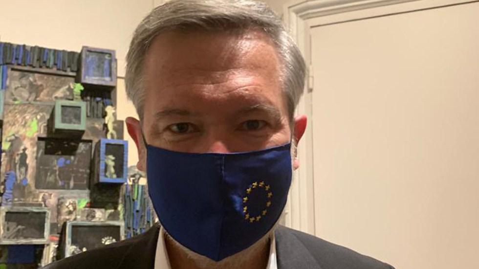 El francés Gautier Mignot asume como nuevo embajador de la UE en México - Gautier Mignot. Foto de @GautierMignot2