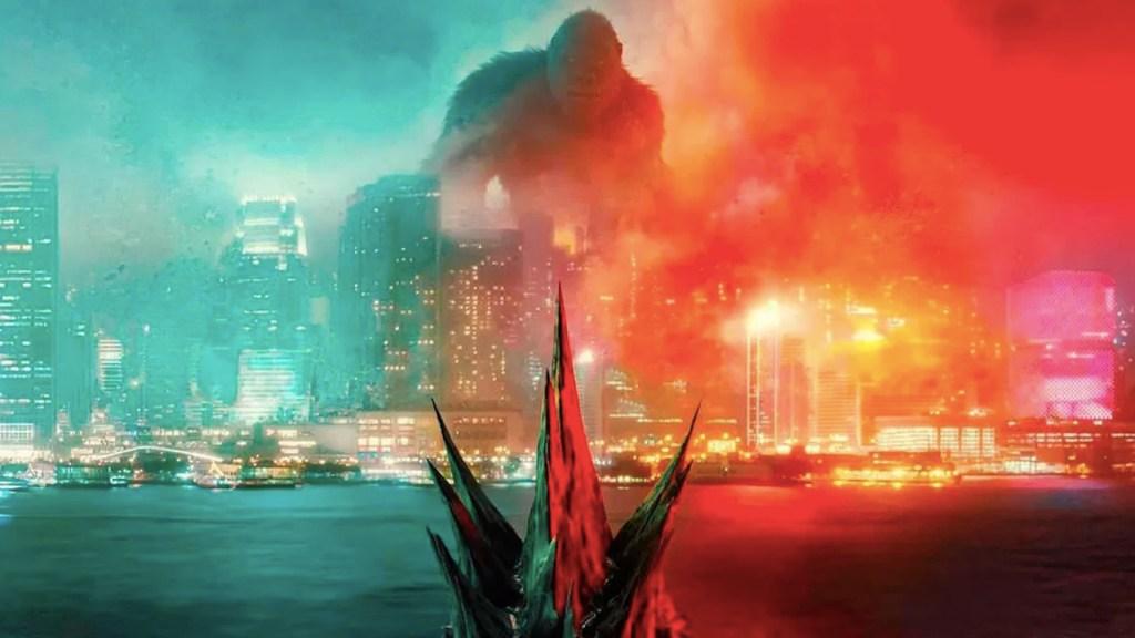 La cinta 'Godzilla vs. Kong'. Foto tomada de video