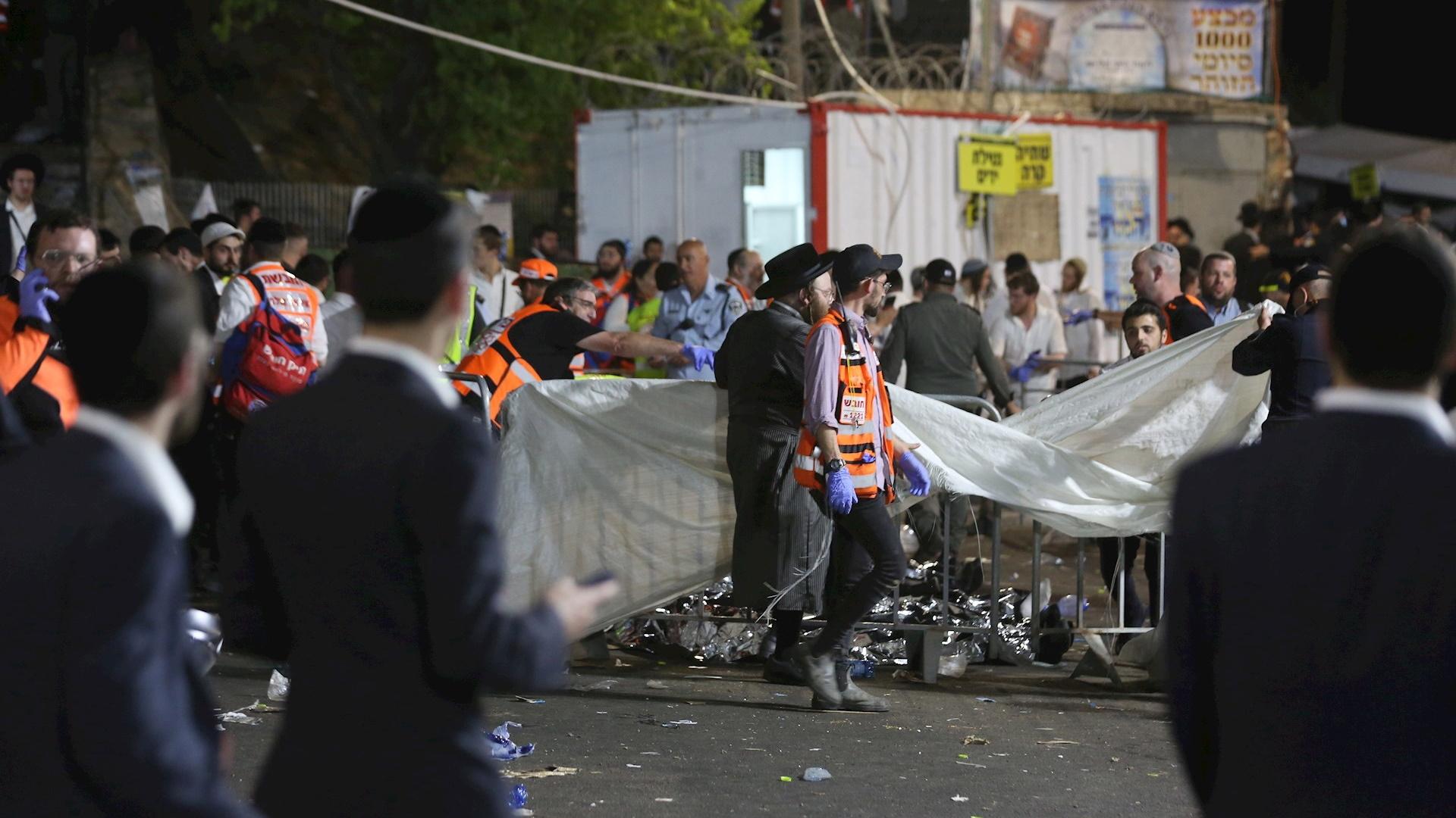 Israel estampida humana mundo 2