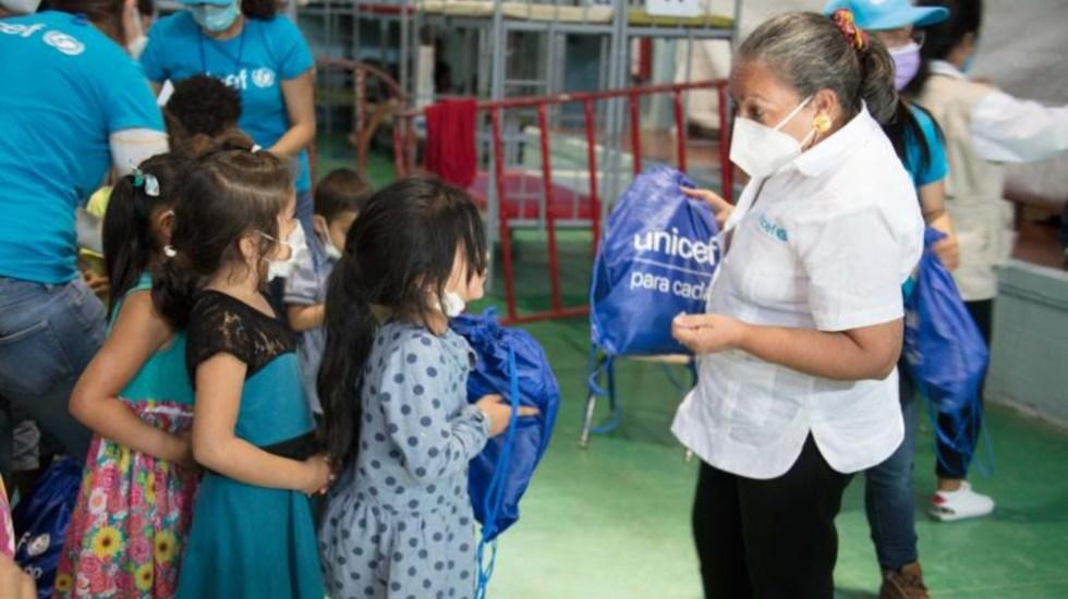 Unicef pide más albergues en México ante explosivo aumento de migración - Jean Gough Unicef albergue niños migrantes