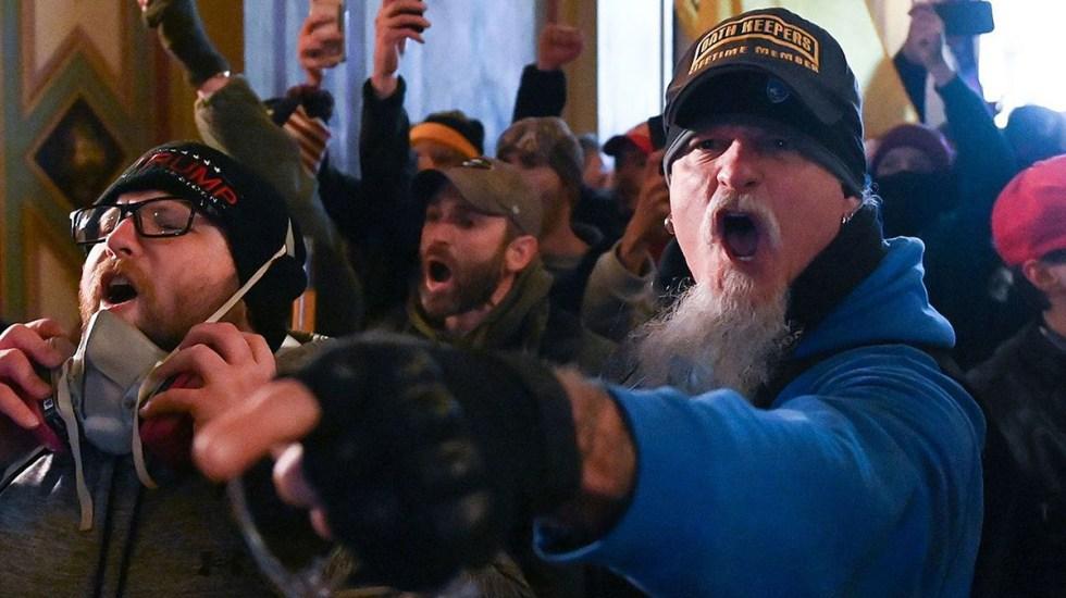 Miembro de grupo de ultraderecha se declara culpable de asalto al Capitolio - Jon Schaffer, miembro fundador del grupo de ultraderecha Oath Keepers. Foto de Departamento de Justicia de EE.UU.
