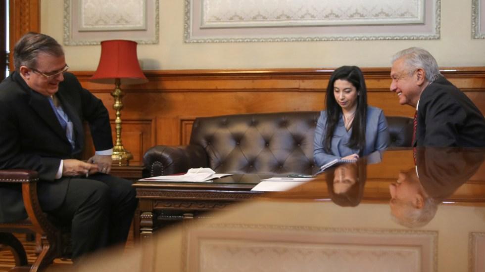 Conversan AMLO y Kamala Harris, vicepresidenta de EE.UU.; migración, el tema abordado - Lopez Obrador Ebrard AMLO Kamala Harris