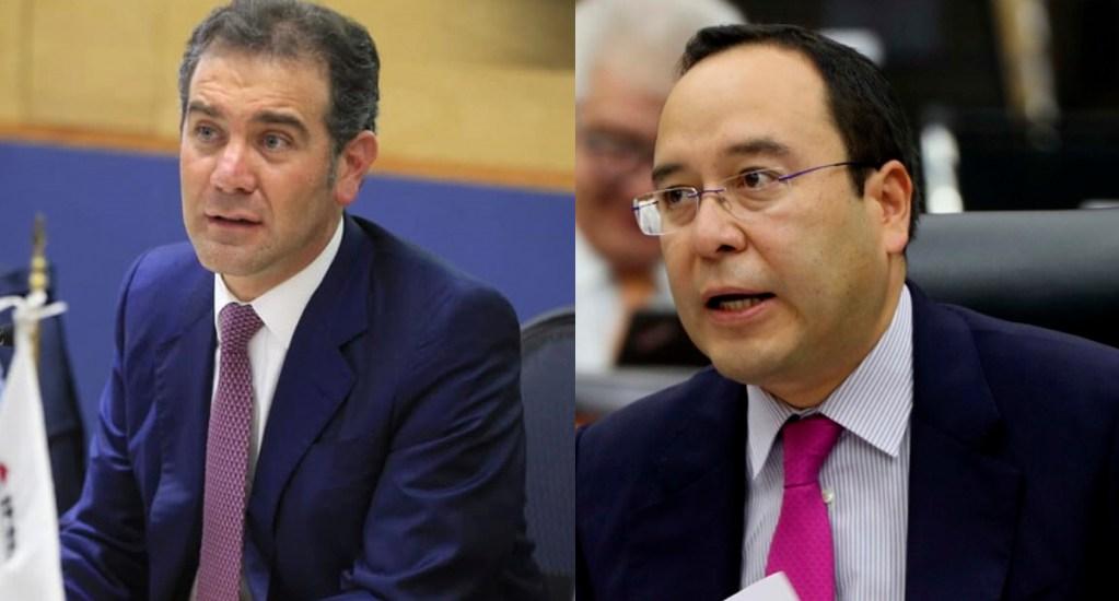 AMLO arremete nuevamente contra consejeros Córdova y Murayama por criterio en tarjetas - consejeros Lorenzo Córdova y Ciro Murayama del INE