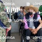 #Exclusiva Reaparece el expresidente Luis Echeverría; recibe segunda dosis contra COVID-19