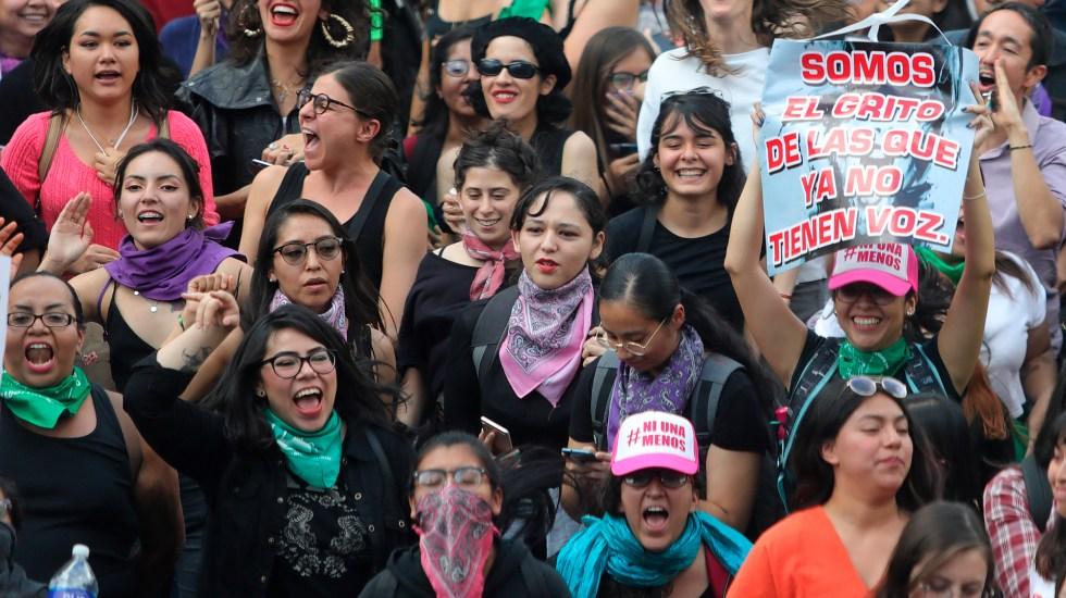 El papel decisivo de las mujeres en las elecciones del 6 de junio - Manifestación feminista en la Ciudad de México. Foto de EFE / Archivo