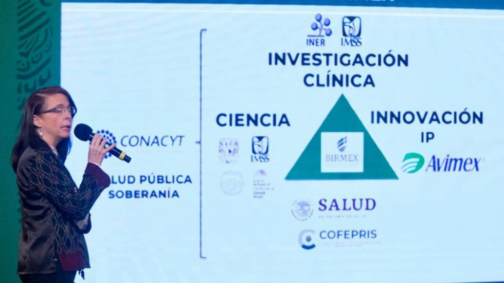 Vacuna Patria presumida por Gobierno de México fue hecha en EE.UU. - María Elena Álvarez-Buylla Conacyt Patria vacuna