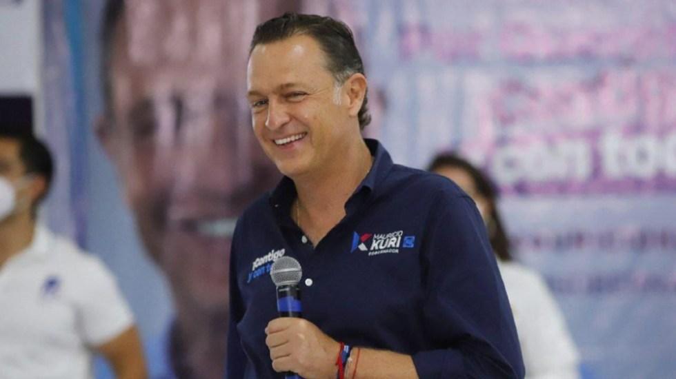 Hospitalizan a Mauricio Kuri, candidato del PAN a gubernatura de Querétaro - Mauricio Kuri candidato