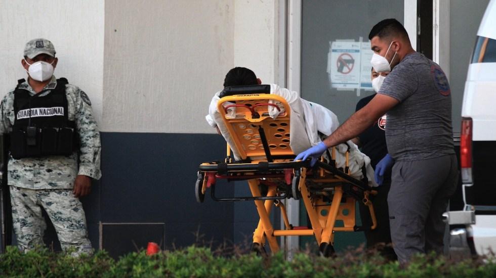México registró en las últimas 24 horas 434 muertes y 3 mil 592 casos de COVID-19 - Situación del COVID-19 en México. Foto de EFE