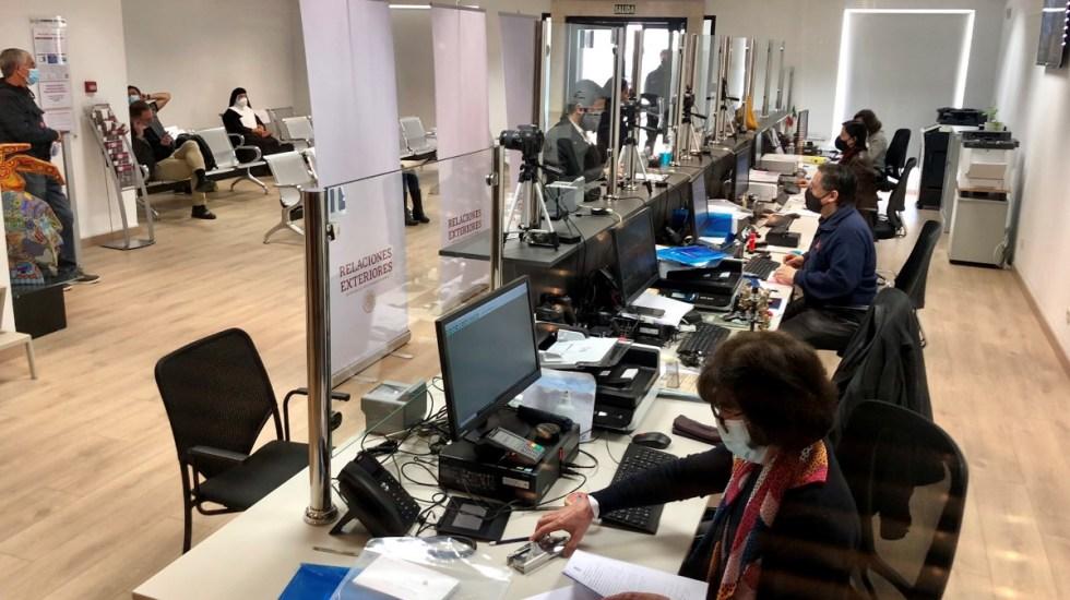 Mexicanos ya pueden obtener su pasaporte en España en un solo día - Pasaportes Embajada de México en españa trámite