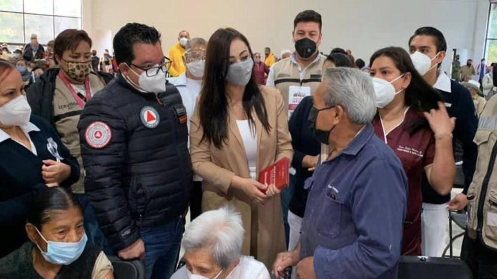 """Piden aplausos para presidenta municipal de Naucalpan debido a que """"hizo todo lo posible"""" para que hubiera vacunación - Patricia Durán, presidenta municipal de Naucalpan. Foto de Twitter Patricia Durán"""