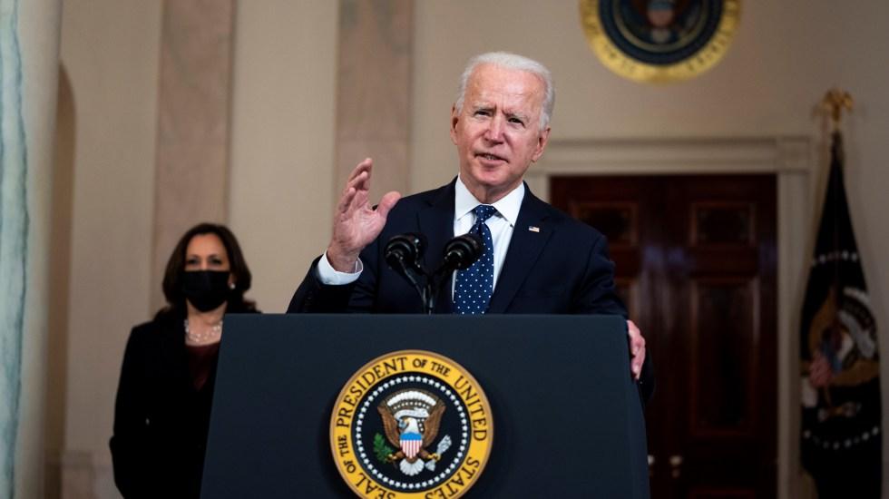 Estados Unidos tras 100 días de Biden: nuevo orden, misma polarización - Presidente Joe Biden de Estados Unidos. Foto de EFE