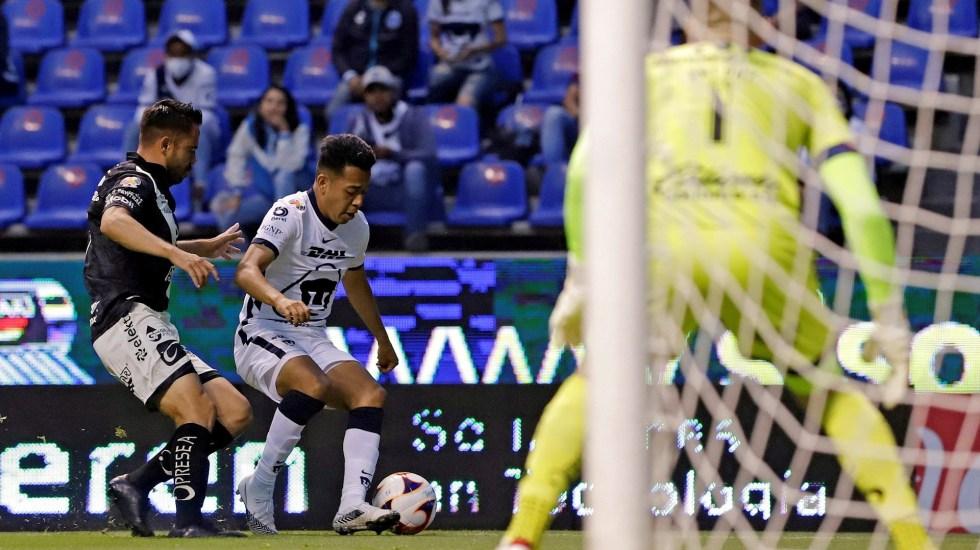 Violencia opaca partido entre Pumas y Puebla - Pumas UNAM partido Puebla 2