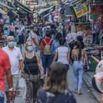 Río de Janeiro reabre en pleno pico de la pandemia - Reapertura de Río de Janeiro. Foto de EFE