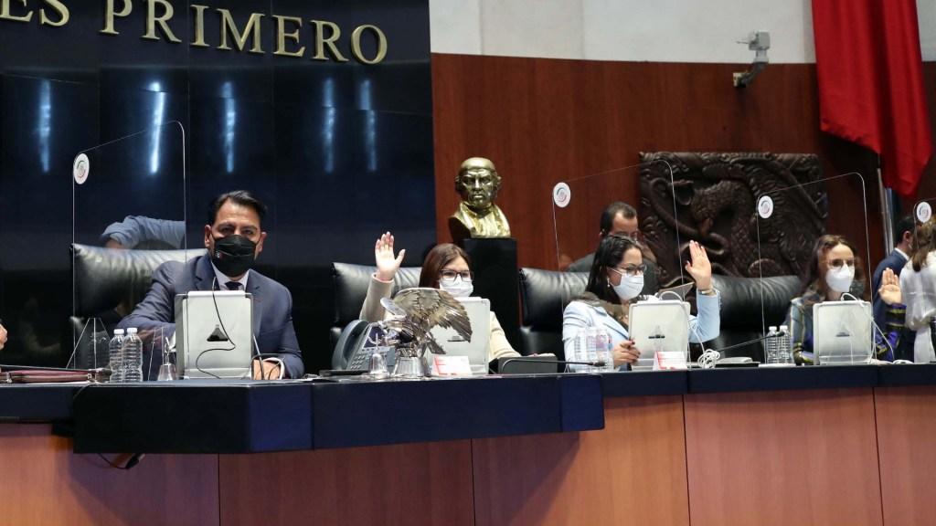 Morena se queda sin mayoría absoluta en la Comisión Permanente tras acuerdo con oposición - Senado de la República sesión 29042021 2