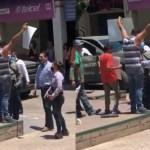 """""""Todos cometemos errores"""": AMLO sobre empujón de Aureoles en Aguililla"""
