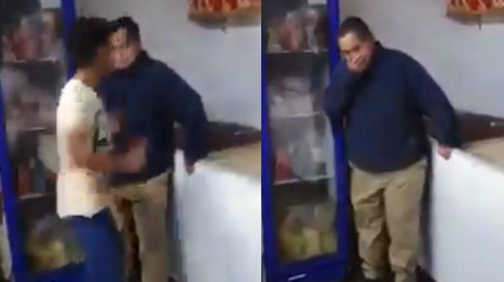 #Video Sujeto golpea a hombre con síndrome de Down en Tlalpan - Sujeto golpea síndrome de Down Tlalpan