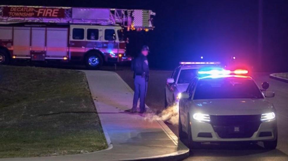 Identifican a autor de tiroteo en Indiana como exempleado de FedEx - El autor de un tiroteo en FedEx sería un exempleado del lugar. Foto de CNN