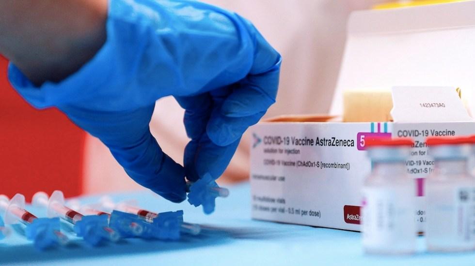 Beneficios de vacuna de AstraZeneca superan ampliamente a riesgos, asegura la empresa - Vacuna de AstraZeneca. Foto de EFE