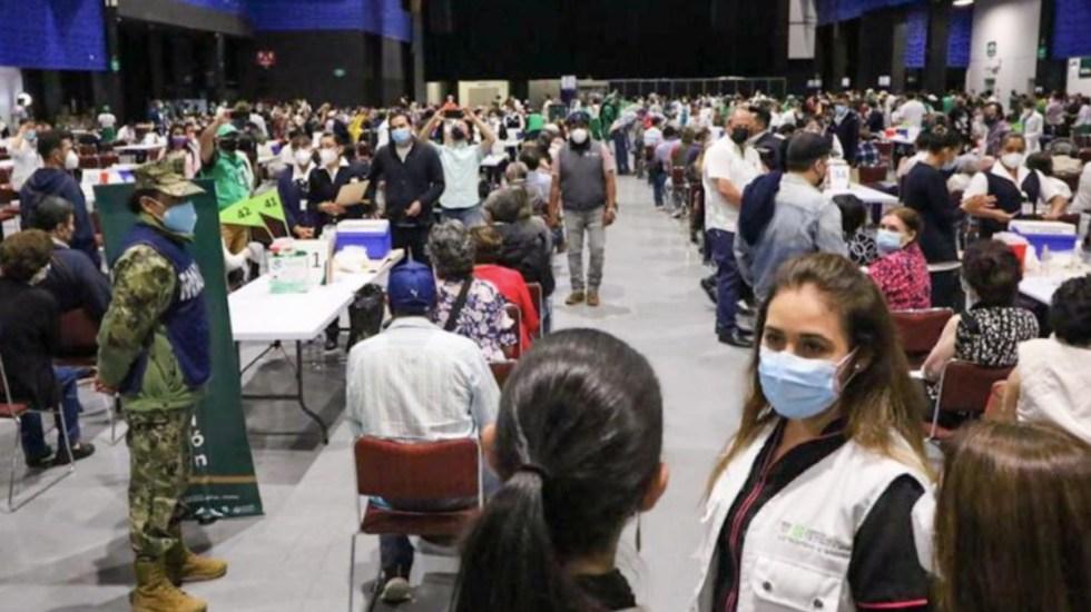 CDMX supera el millón de adultos mayores vacunados contra COVID-19 - Vacunación COVID-19 coronavirus pandemia epidemia vacunas
