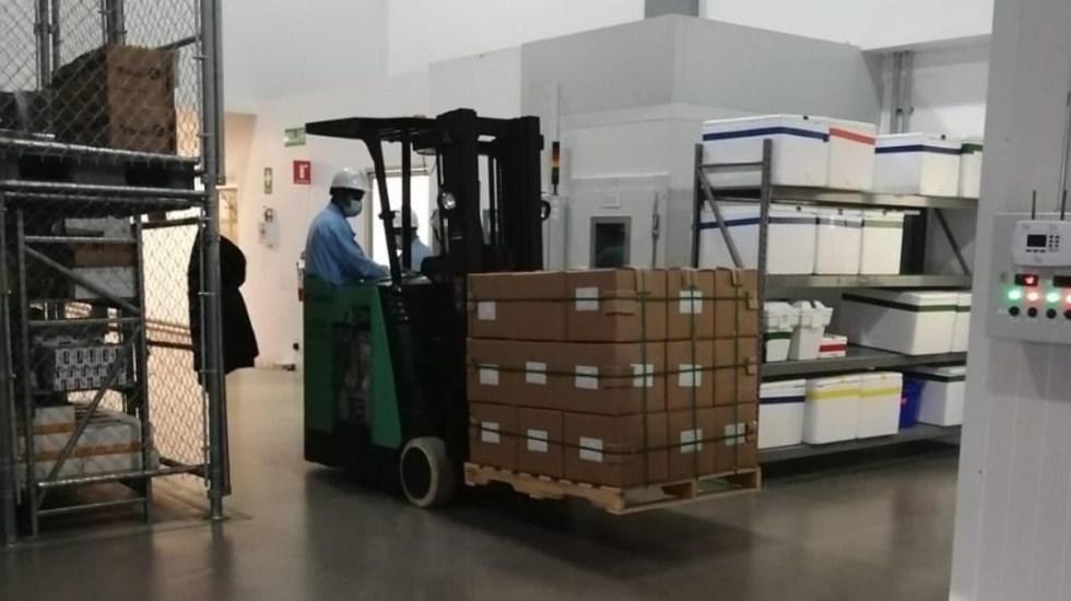 Drugmex entrega más de 580 mil dosis de vacunas contra COVID-19 envasadas - Vacunas covid-19 Cansino entrega Drugmex