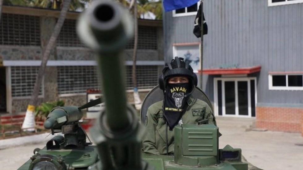 Venezuela habría capturado a miembros del Cártel de Sinaloa en la frontera con Colombia - Un elemento de la Fuerza Armada Nacional Bolivariana (FANB). Foto de FANB