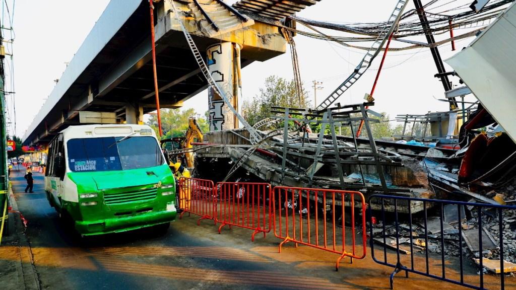 Expertos recorrerán tramo elevado de la Línea 12 del Metro - Accidente UNAM línea 12 Metro Ciudad de México 3