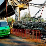 Reporte desde la zona colapsada de la Línea 12 del Metro de CDMX - Accidente línea 12 Metro Ciudad de México 3