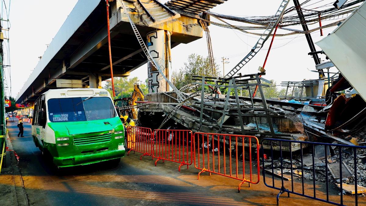 Accidente línea 12 Metro Ciudad de México 3