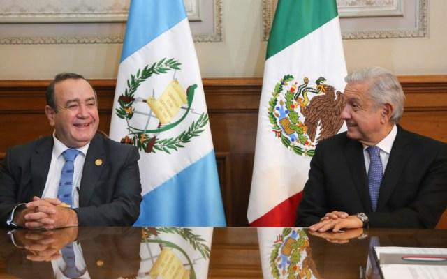 Emiten México y Guatemala declaración conjunta tras encuentro presidencial - México Alejandro Giammatei y López Obrador