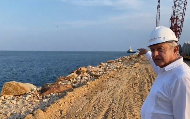 Proyectos del Corredor Transístmico quedarán a cargo de Semar: AMLO - AMLO Andrés Manuel López Obrador Corredor Transistmico