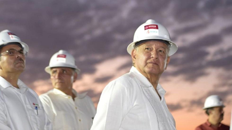 AMLO asegura que trabajadores de Dos Bocas le pidieron su reelección - AMLO López Obrador Dos Bocas reelección refinería