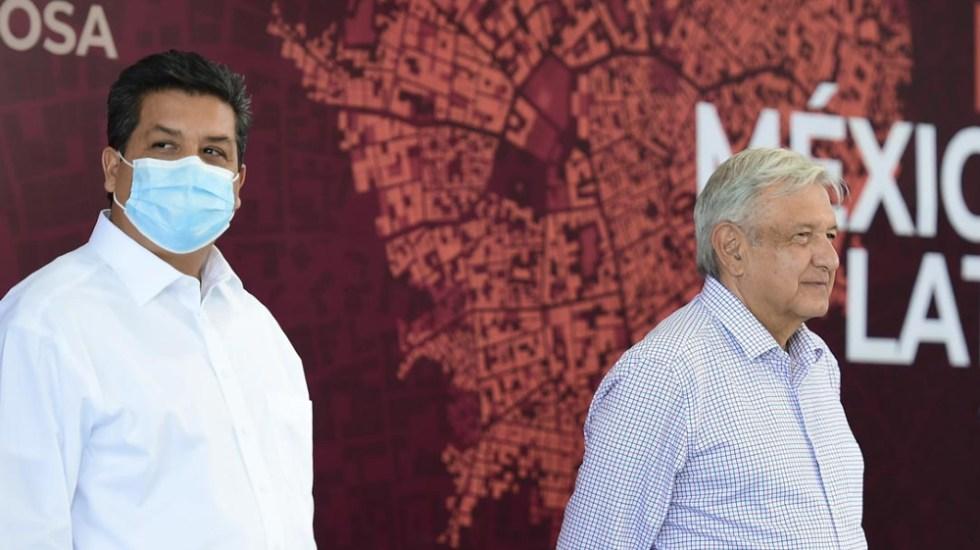 Yo no fabrico delitos: AMLO se deslinda sobre desafuero a García Cabeza de Vaca - AMLO Lopez Obrador Garcia Cabeza de Vaca