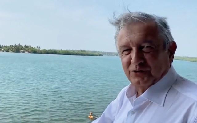 """""""Esto es Tabasco y no como lo pintan"""", López Obrador comparte video desde Paraíso -"""