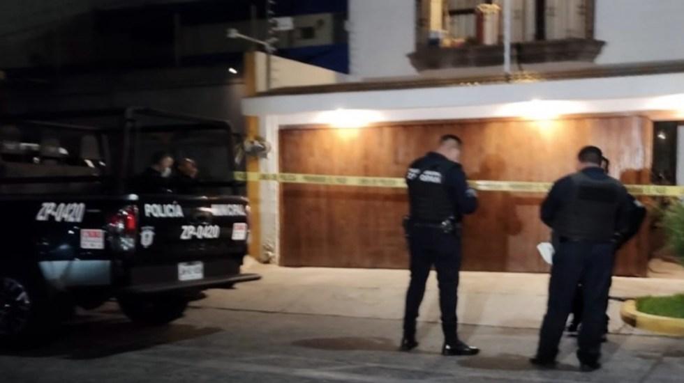 Atacan con disparos casa de candidato del PRI a alcaldía de Tlaquepaque - Atacan a balazos casa de candidato del PRI a la alcaldía de Tlaquepaque. Foto de Meganoticias