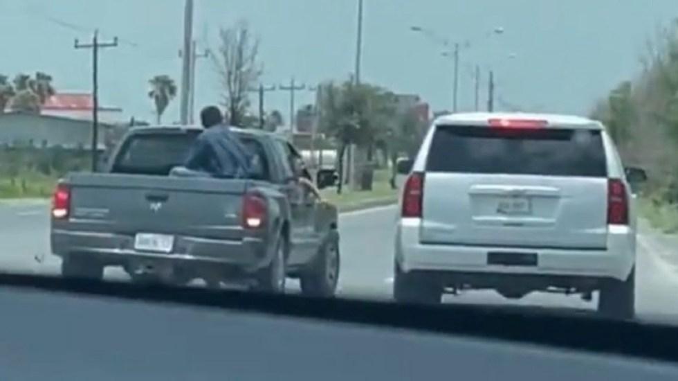 Presuntos agresores de Delgado no llevaban armas: Gobierno de Tamaulipas a Segob - Presuntos agresores de Mario Delgado no portaban armas, confirma Gobierno de Tamaulipas. Foto tomada de video
