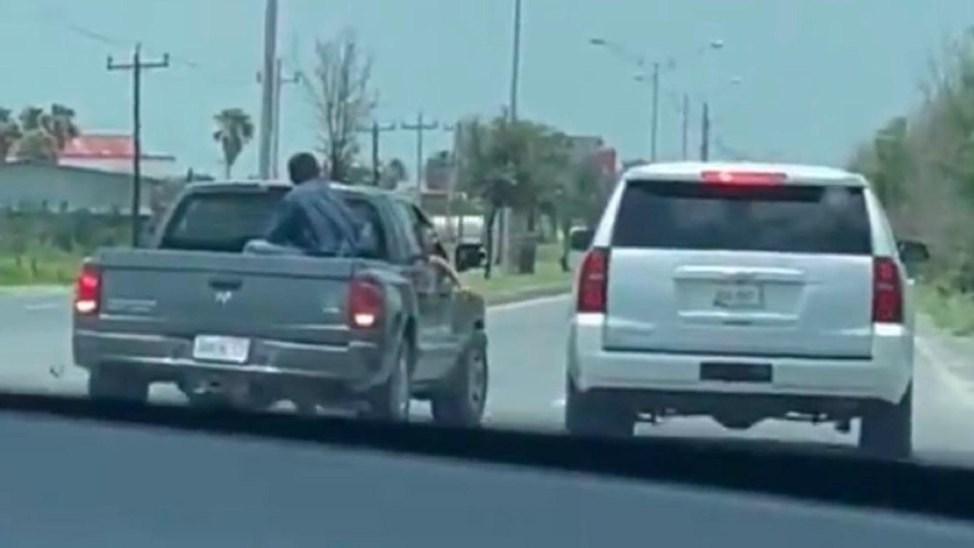 Presuntos agresores de Mario Delgado no portaban armas, confirma Gobierno de Tamaulipas. Foto tomada de video