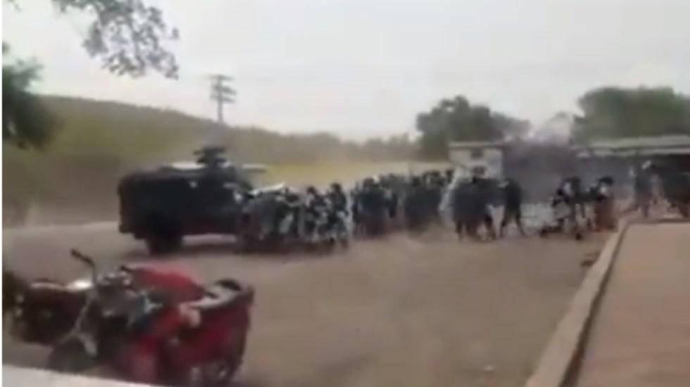 Agreden a miembros de la Guardia Nacional en Michoacán - Ataque Michoacán Guardia Nacional