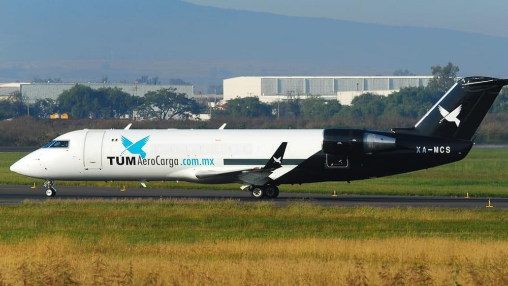 Avión de carga se desploma en Michoacán este sábado - avión carga TUM Michoacán desplome