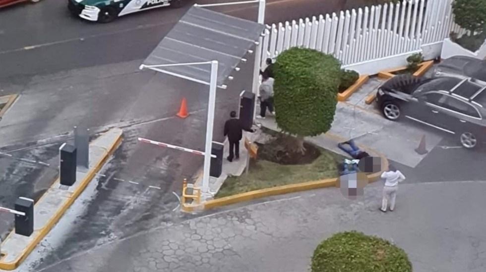 Ataque armado en el Hospital Ángeles Lindavista deja dos muertos - Balacera en Hospital Ángeles. Foto de @SUUMA_CDMX
