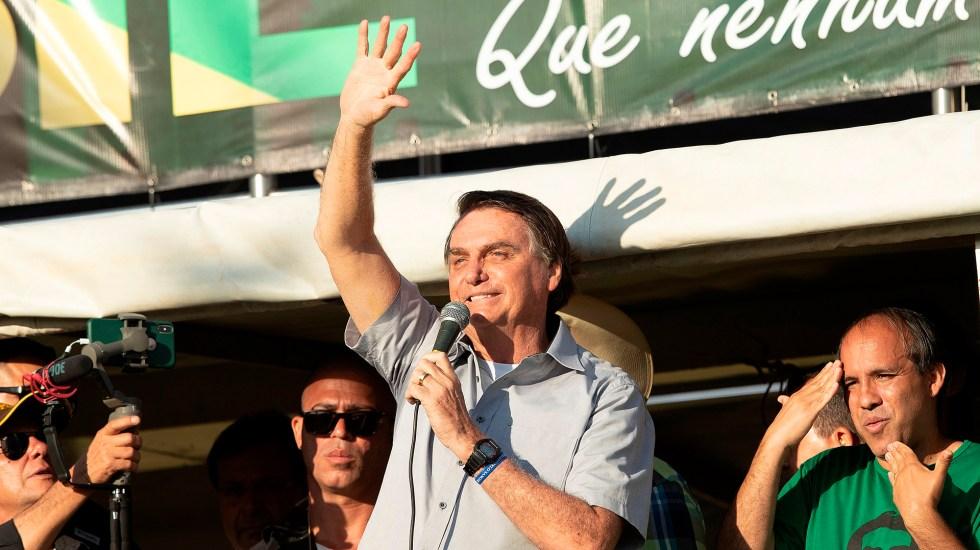 El 58 % de los brasileños considera a Bolsonaro incapaz de liderar Brasil - Jair Bolsonaro. Foto de EFE