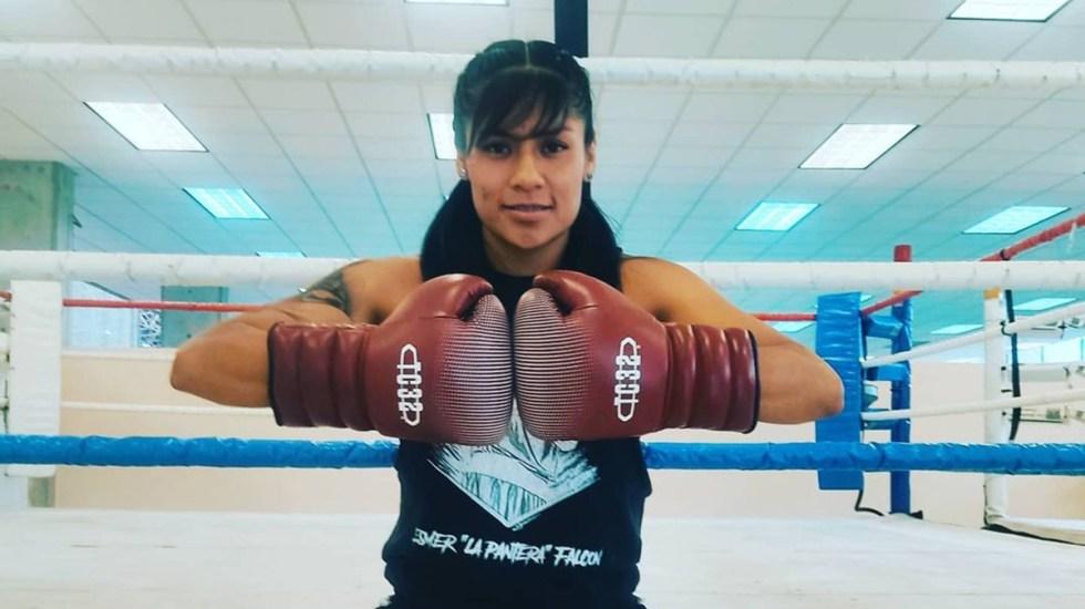 Esmeralda Falcón, primera boxeadora mexicana que competirá en Juegos Olímpicos - Esmeralda Falcón. Foto de @esmerfalconmx