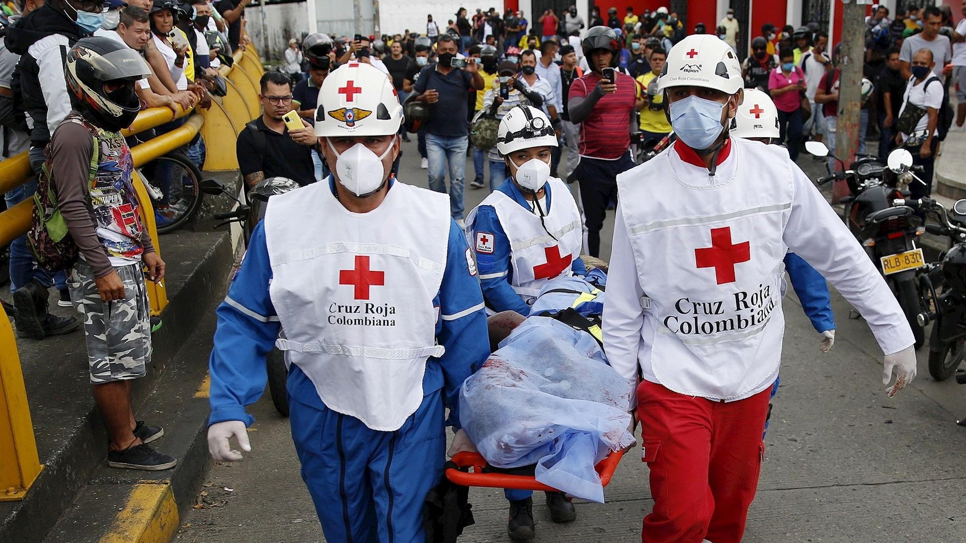 Cali colombia muerto protesta disparos ataque 2