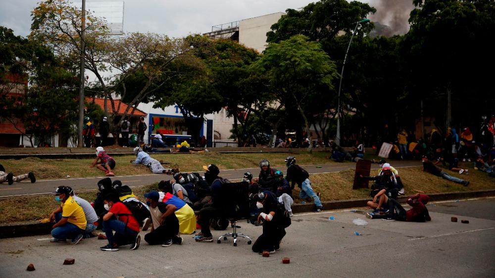Reportan 13 muertos en Cali, Colombia, en medio de las protestas - Cali protestas Colombia