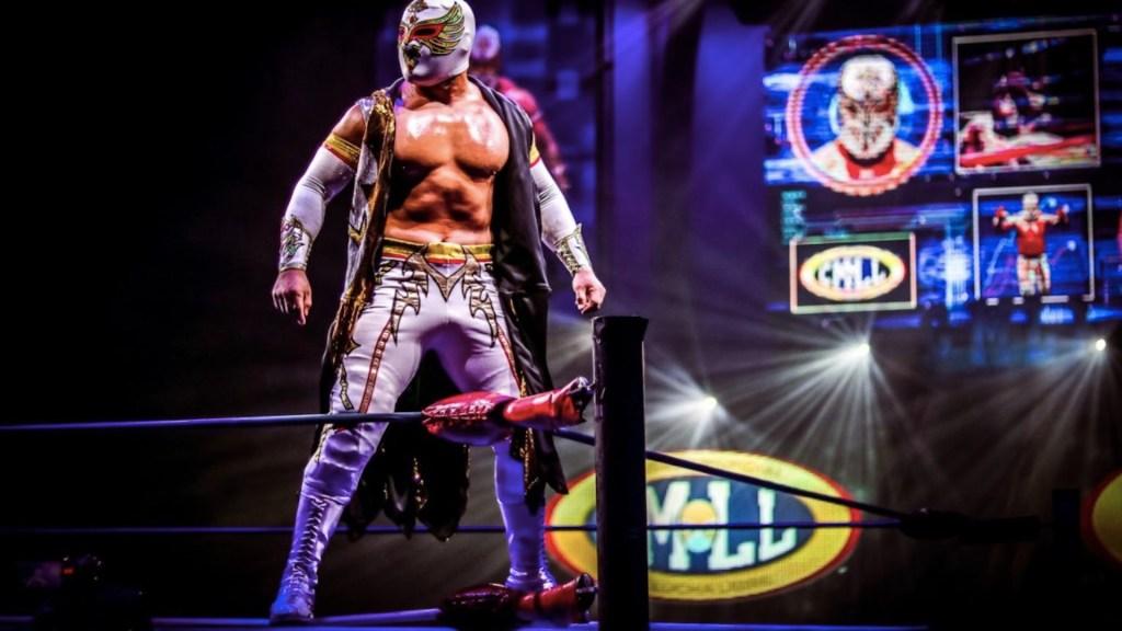 Arena México reabre sus puertas al público con función especial del CMLL - Carístico participará en la función de reapertura de la Arena México por el CMLL. Foto de CMLL