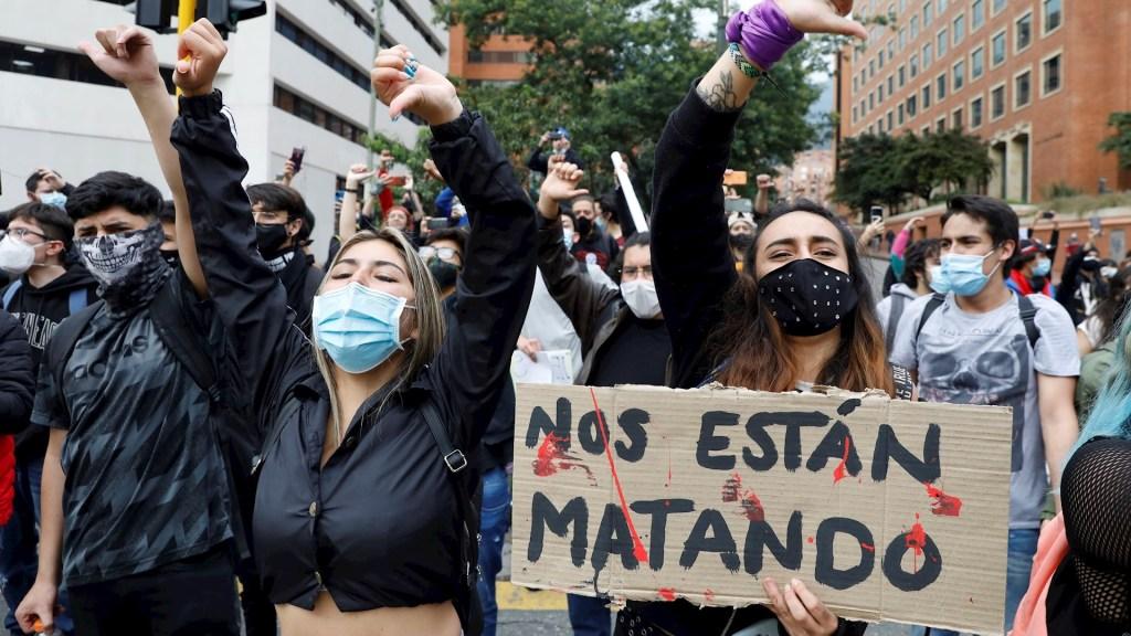 """Pide AI a autoridades de Colombia """"poner fin a la represión"""" - Colombia protestas represión 2"""