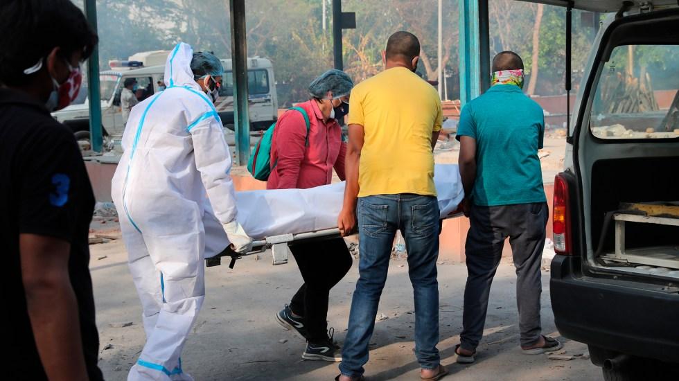 India supera los 20 millones de casos de COVID-19; oposición pide confinamiento total - Crisis por COVID-19 en India. Foto de EFE