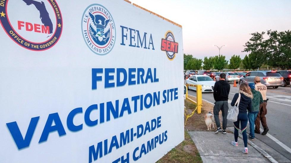 Deportistas latinoamericanos clasificados a Tokio podrán vacunarse en Miami - Deportistas latinoamericanos clasificados a Tokio podrán vacunarse en Miami. Foto de EFE