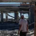 Netanyahu se empeña en seguir atacando a palestinos en Gaza pese a que Biden pide desescalar - Destrucción en la ciudad de Gaza tras bombardeo israelí. Foto de EFE