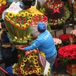 El comercio por el Día de las Madres - Día de las Madres Ciudad de México mercado Jamaica 2