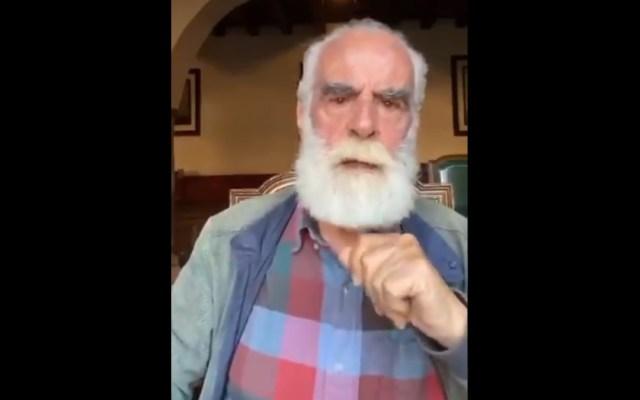 """""""Debemos evitar que se imponga la tiranía"""", Diego Fernández de Cevallos llama a no votar por Morena - Diego Fernández de Cevallos morena llamado mensaje"""